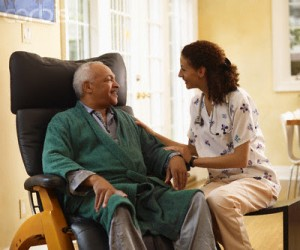 Home Health Care --- Image by © Corbis
